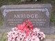 Lucye Patsy <I>Hargrove</I> Akridge