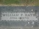 William Patrick Hayes