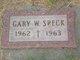 Gary W Speck