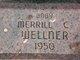 """Merrill C """"Baby"""" Wellner"""
