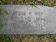 Frank E. Hill