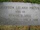 Alfreda Leland <I>Pruyn</I> Hill