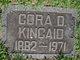 Cora D <I>Dreibelbis</I> Kincaid