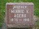 Profile photo:  Minnie Viola <I>Whicker</I> Agers