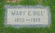 Profile photo:  Mary E <I>Peters</I> Hill