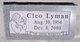 Cleo Lyman
