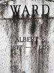 Profile photo:  Albert R. Ward