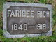 "Profile photo:  Fairbee ""Fereby"" Rich"