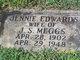 Jennie Bell <I>Edwards</I> Meggs