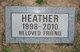 Profile photo:  Heather