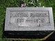 Martha Maria Augusta <I>Dallman</I> Burdick