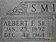 Profile photo:  Albert F Smith, Sr