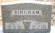 Mary Loretta <I>Evans</I> Bingham
