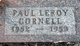 Paul Leroy Cornell