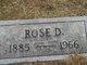 "Rose Pricilla ""Rosie"" <I>Denston</I> Ward"