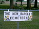 New Barclay Cemetery