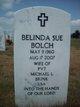 Profile photo:  Belinda Sue <I>Hirtle</I> Bolch