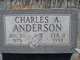 Profile photo:  Charles A Anderson