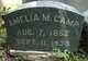 Amelia M <I>Babb</I> Camp
