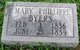 Mary <I>Phillippe</I> Byers