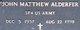John Matthew Alderfer