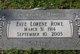 Faye Lorene <I>Harden</I> Gidley Rowe