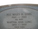 Martha Ann <I>Long</I> Long