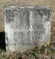 Profile photo:  Abe Goode
