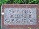 Profile photo:  Gary Olin Bellinger