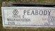 Olive E. <I>Wallrabenstein</I> Peabody