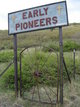 Early Pioneers Cemetery