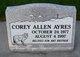 Profile photo:  Corey Allen Ayres