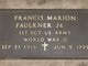 Francis Marion Faulkner, Jr
