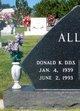 Donald Kenneth Allen