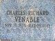 Profile photo:  Charles Richard Venable