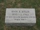 Profile photo:  1st Sgt. Irvin B. Bitler