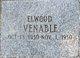 Profile photo:  Elwood Venable