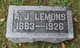 Profile photo:  A J Lemons