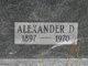 Alexander Daniel Bradley