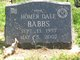 Profile photo:  Homer Dale Babbs
