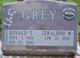 Donald E Grey