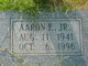 Profile photo:  Aaron F. Deese, Jr
