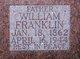 """William Franklin """"Willie"""" Watts"""