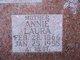 Annie Laura <I>Weed</I> Watts