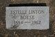 """Profile photo:  Estelle Jane """"Stella"""" <I>Linton</I> Boese"""