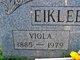 Viola <I>Shook</I> Eikleberry