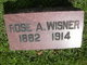 Rosa A. <I>French</I> Wisner