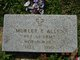 Profile photo: Pvt Murley E. Allen