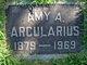 Profile photo:  Amy A Arcularius
