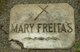 Mrs Mary Ann <I>Lattimer</I> Freitas